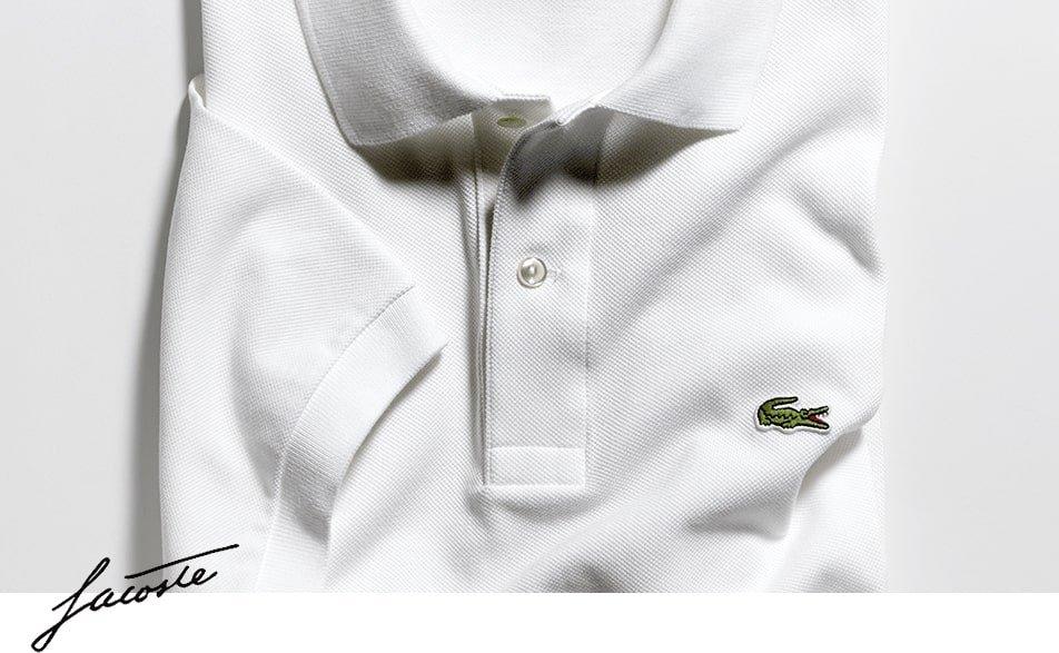 Rewolucyjna koszulka zaprojektowana przez Rene Lacoste według własnego uznania. Koszulka z francuskiej bawełny zrewolucjonizowała mode.