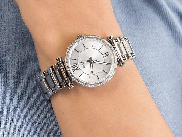 Zegarek Fossil idealnym dopełnieniem stroju