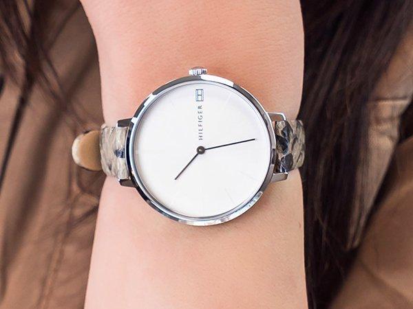 Eleganckie zegarki Tommy Hilfiger damskie na pasku