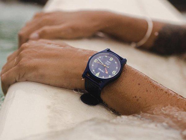 Sportowe zegarki Triwa z dna oceanu