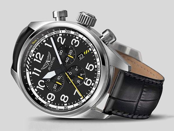 Zegarki Airacobra z chronografem