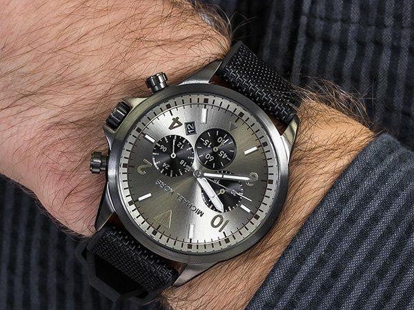 Męski zegarek MK w sportowej wersji