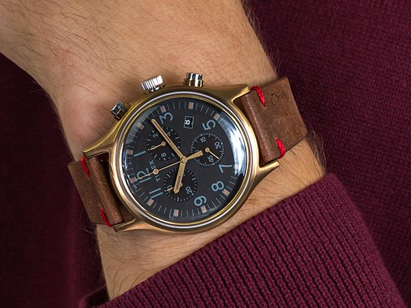 1. Retro Walentynka w postaci zegarka Timex TW2R96300