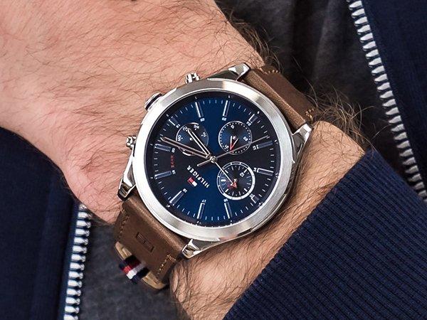 Designerski styl męskich zegarków Tommy Hilfiger