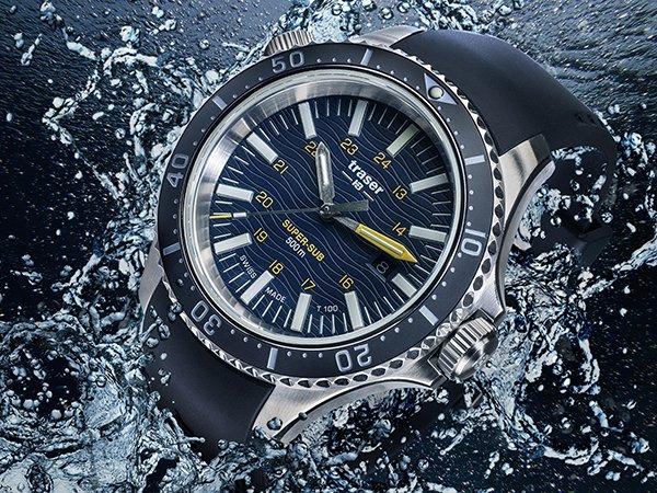 Szwajcarski mechanizm najwyższej jakości w zegarkach Traser