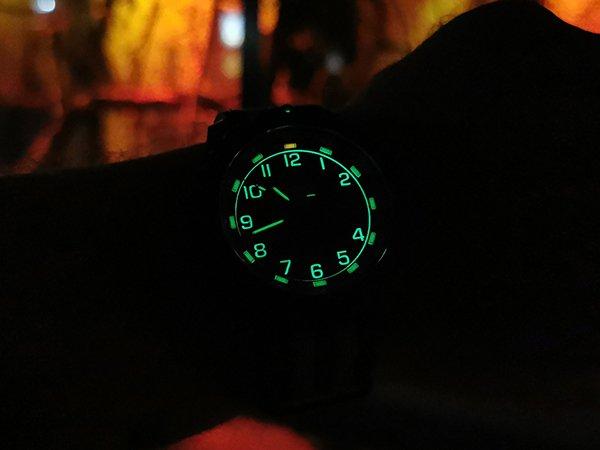 Różne warianty zegarków Traser P96 OdP Evolution