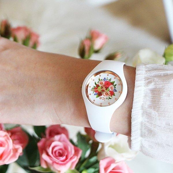 Piękny zegarek Ice Watch Flower.