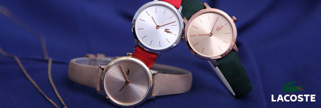 Zegarki Lacoste charakteryzujące się unikalnym designem.
