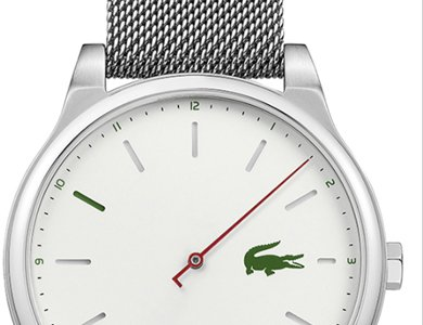Zegarek z jedną wskazówką od Lacoste