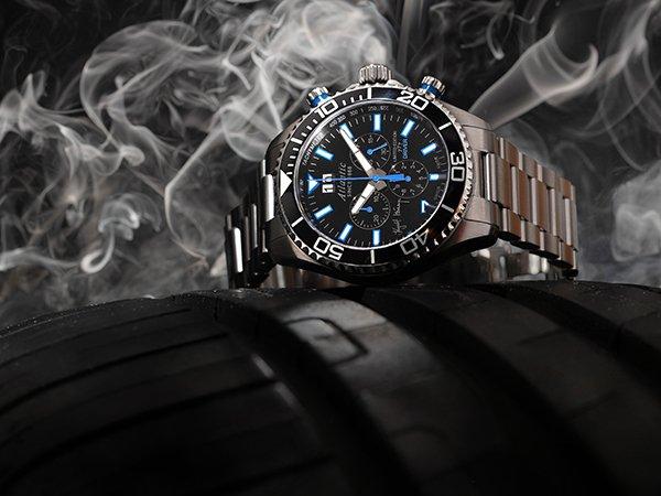 Klasyczna bransoleta w zegarkach Atlantic