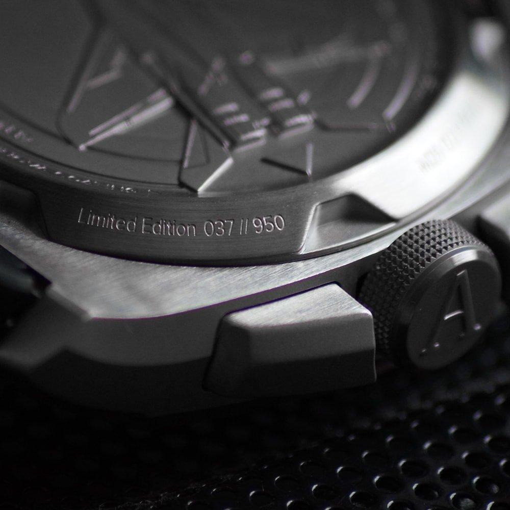 Lotniczy, męski zegarek Aviator M.2.30.0.219.6 MIG-29 SMT Chrono napędza szwajcarski mechanizm RONDA 50.30.D.