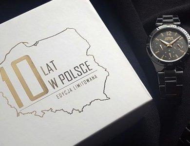 Zegarki Lorus świetują urodziny na polskim rynku