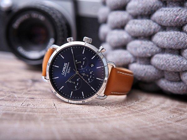 Wysoka jakość wykonania stylowych zegarków Lorus