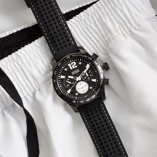 Męski zegarki Guess w amerykańskim stylu.