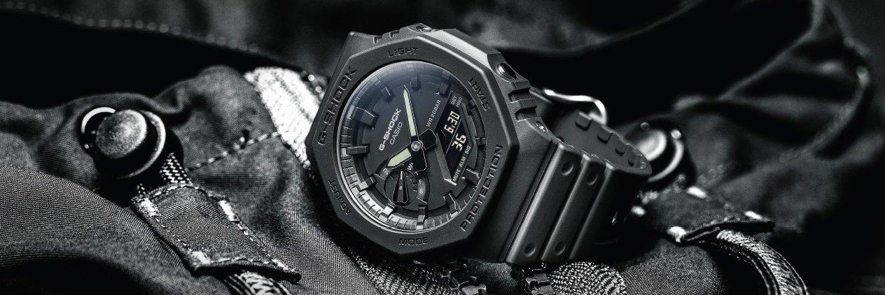 Nowoczesne zegarki Casio