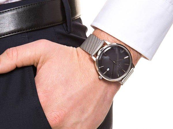 Zegarki JOOP! na bransolecie wykonanej ze stali