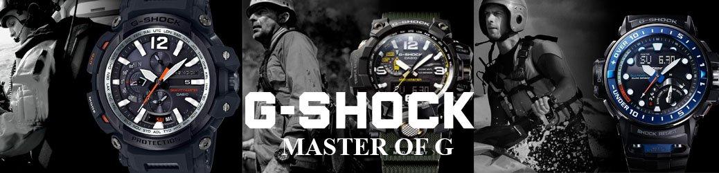 Niezwykłe technologie w zegarkach G-SHOCK Master of G