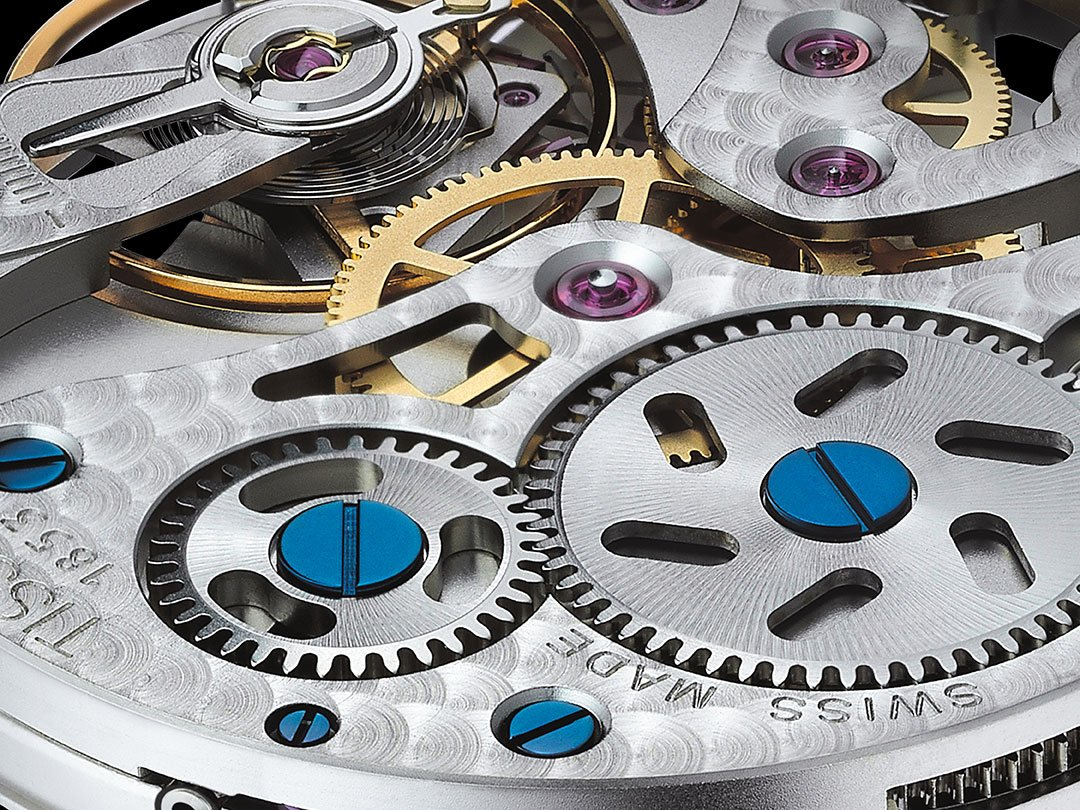 Wysokiej jakości mechanizmy zegarków Tissot.