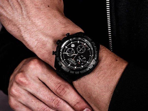 Eleganckie zegarki Bisset ze sportowym charakterem dla mężczyzny