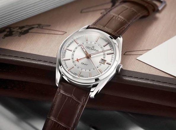 Klasyczny zegarek Grovana.