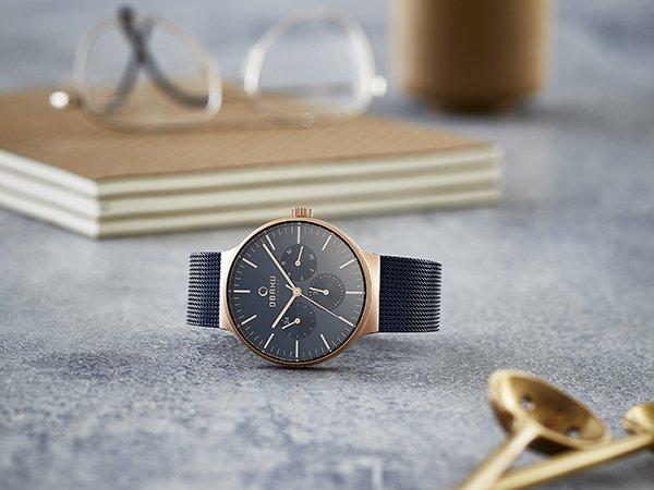 Męski zegarek Obaku Denmark z subtarczami.