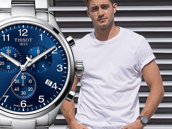 Stylowe zegarki Tissot Chrono XL