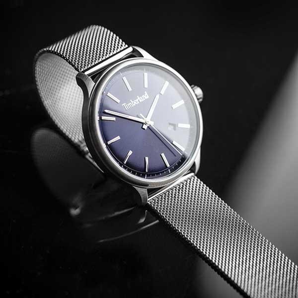 zegarek Timberland na bransolecie mesh