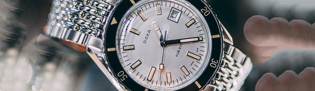 Męskie zegarki Doxa