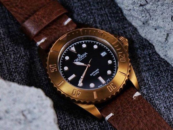 Stylowy zegarek Grovana w sportowym wydaniu.