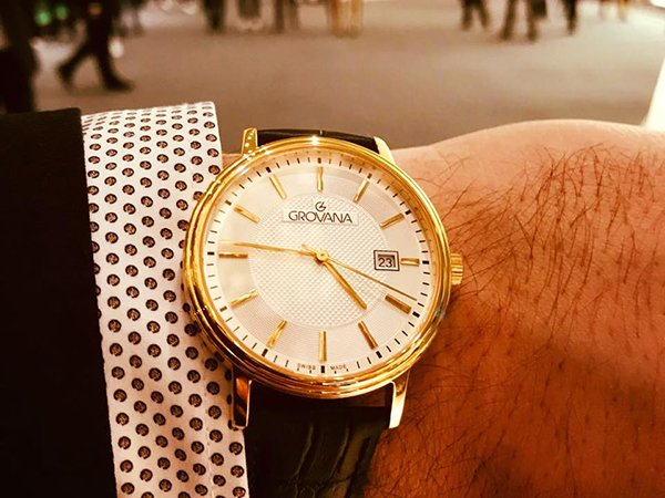 Elegancki zegarek Grovana na każdą okazję.