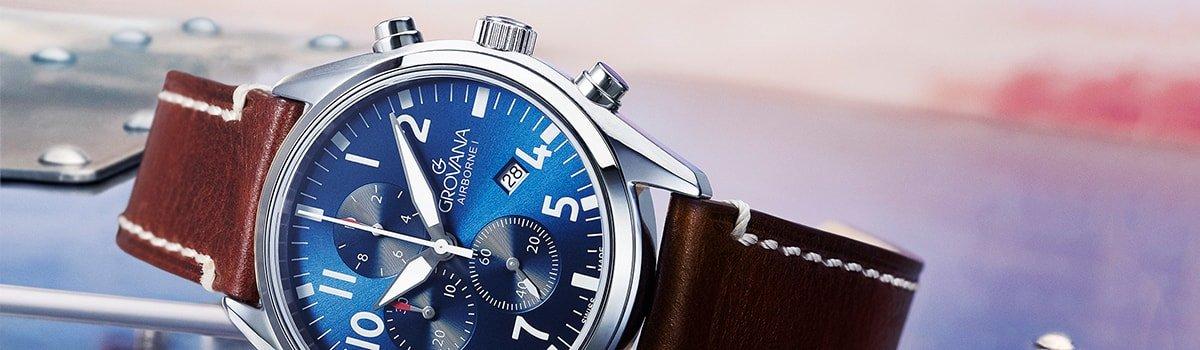 Męskie zegarki Grovana
