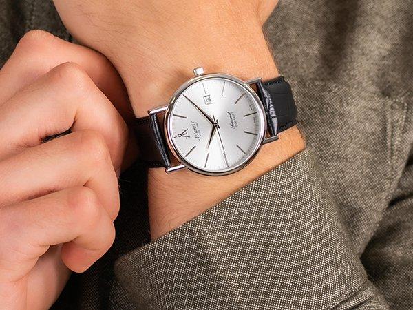 Prestiż tradycyjnego zegarmistrzostwa z zegarkami Atlantic Seacrest