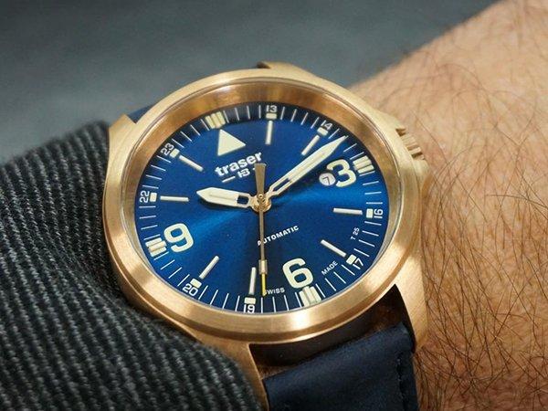 Pewność użytkowania zegarków Traser P67 Officer Pro Automatic