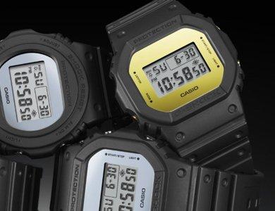 Designerski metaliczny G-Shock!