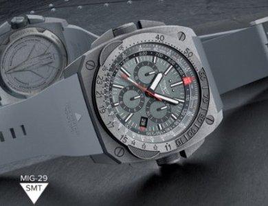 Przełam bariery z zegarkiem MIG-29 SMT od marki Aviator !