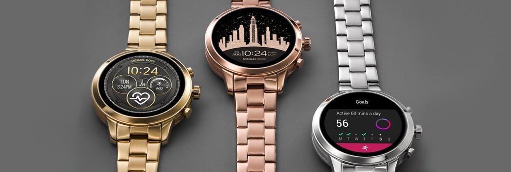 Smartwatche Michael Kors na bransolecie