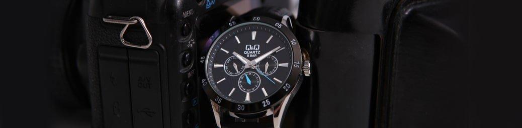 Japoński zegarek QQ