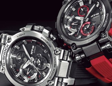 Nowy G-SHOCK MT-G B1000 z solarnym mechanizmem i technologią Bluetooth.