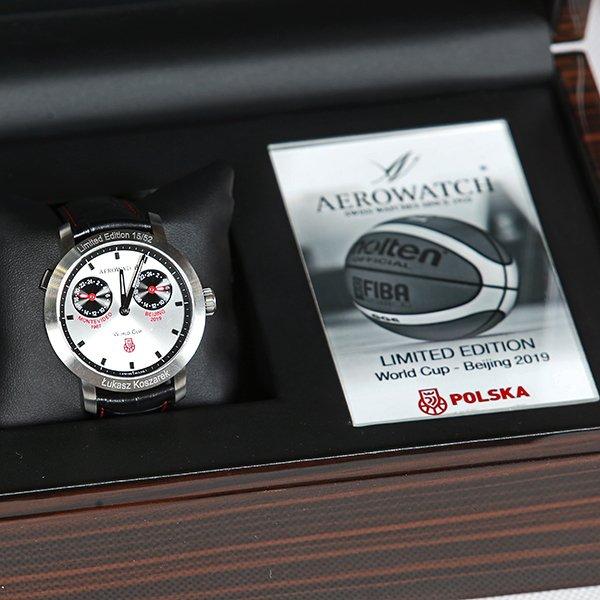 Premierowa nowego Aerowatch Renaissance Polish Basketball Chronograph!