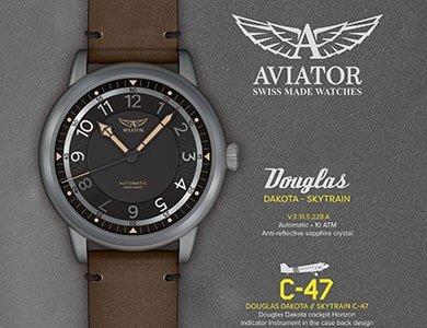 Aviator Douglas Dakota Skytrain Automatic