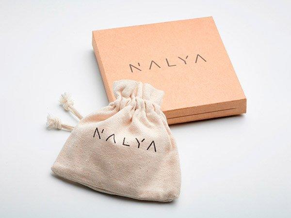 Ekologiczne i stylowe opakowanie bransoletek Nalya