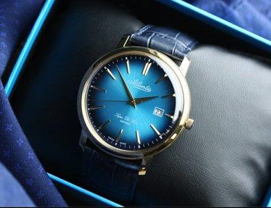 Jaki zegarek dla taty? Poznaj serię Atlantic Super De Luxe.