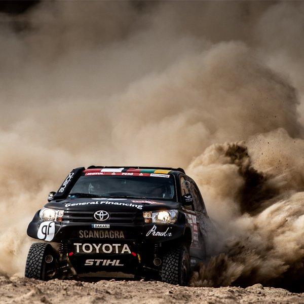 Tegoroczny rajd Dakar odbył się w Peru.