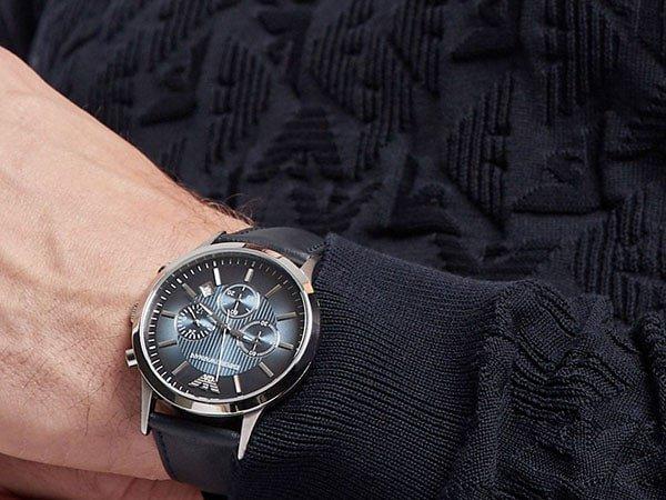 Stylowe zegarki Emporio Armani.
