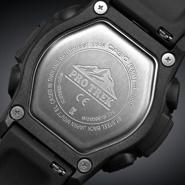 Odporna jak i wyjątkowa koperta męskiego zegarka Casio Pro Trek PRT-B50.