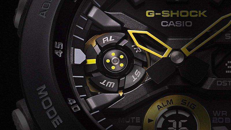 Specjalna subtarcza wskazująca tryb zegarka (np stoper, alarm, timer)..