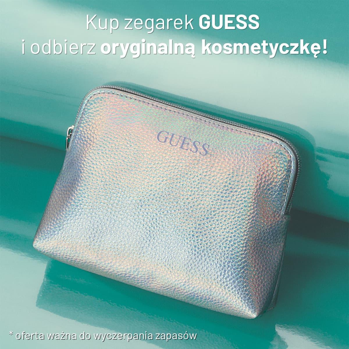 Odbierz kosmetyczke Guess gratis