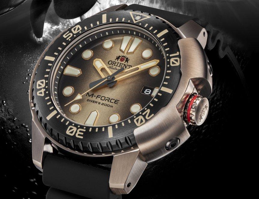 Odświeżone zegarki Orient M-Force na 70-lecie marki Orient