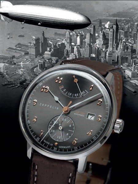 Męskie zegarki Zeppelin dla prawdziwych mężczyzn.