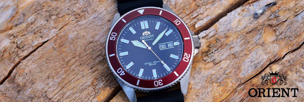 Doskonały męski zegarek Orient